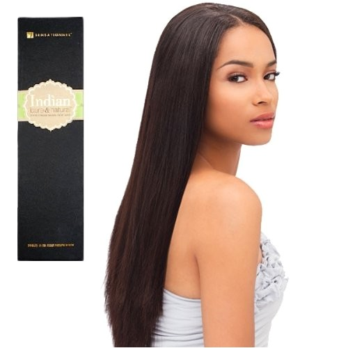 where to buy sensationnel 100 virgin indian remi weave bare amp amp natural yaky straight 12 inch natural black
