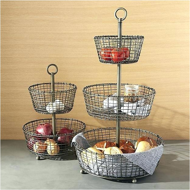 3 tier fruit basket 3 tier chrome hanging basket french wire 3 tier fruit basket stand