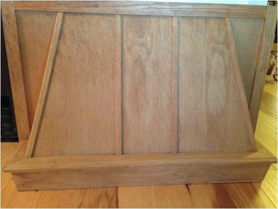 a 37 977927 unfinished oak range hood cabinet 30 chalmette