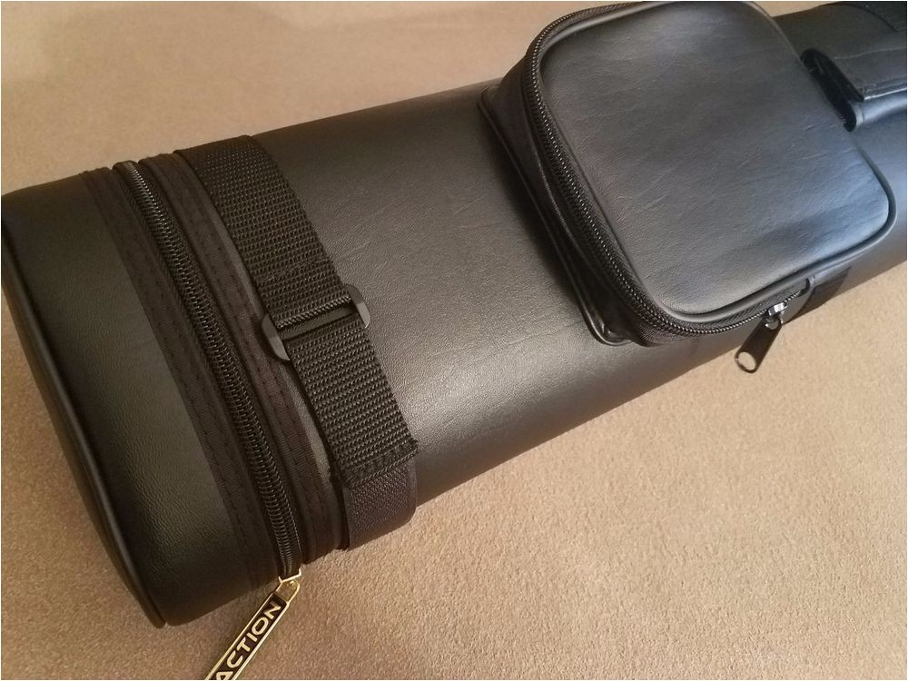 4×8 Hard Pool Cue Case Action Brand Ac48 4×8 Oval Hard Vinyl Pool Cue Case