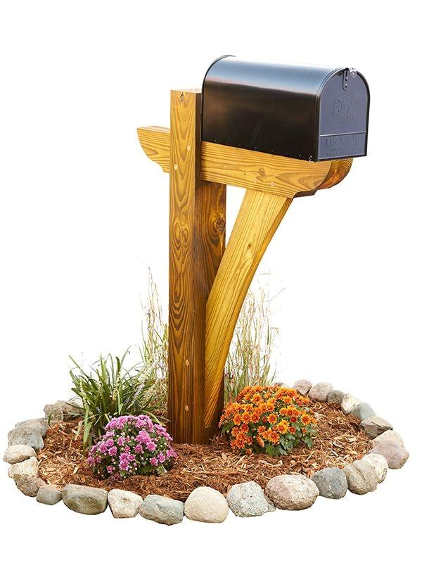 diy 4x4 mailbox post plans