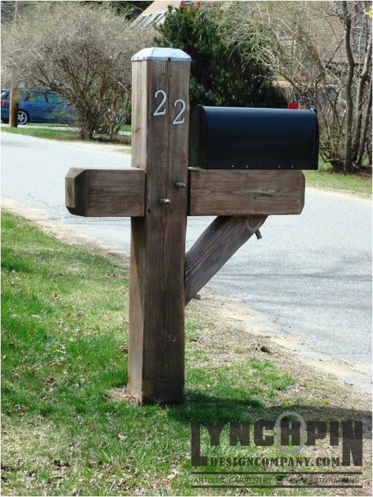yankee style heavy duty mailbox post newburyport ma