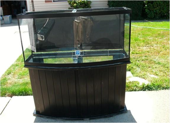 72 gallon glass bowfront aquarium kit 454634