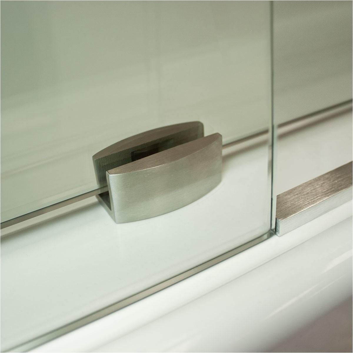 ultra c 76 x 72 sliding glass shower door lscr1095