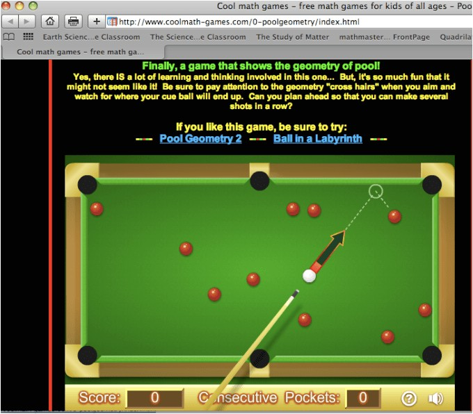 8 Ball Pool Cool Math Cool Math Games 8 Ball Pool Gamesworld