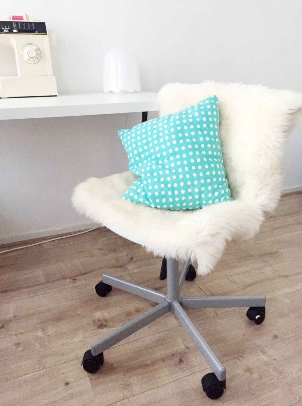 Furry Desk Chair Cover - Truly Beautiful