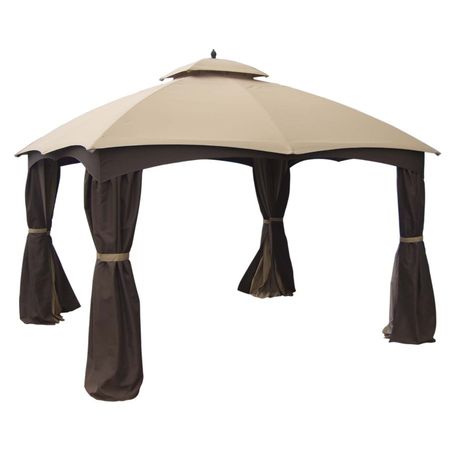 marvellous allen and roth hardtop gazebo