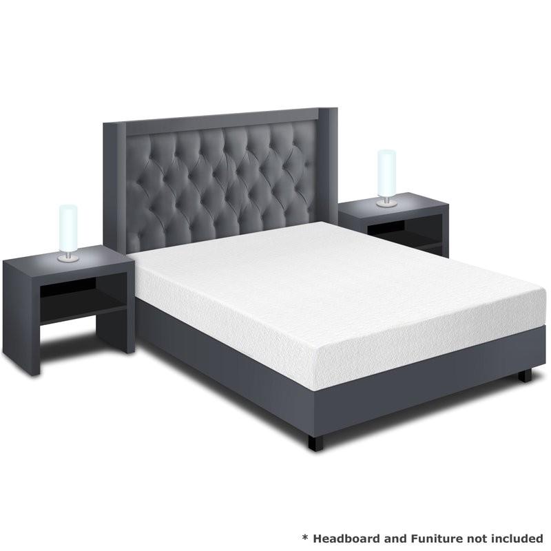 alwyn home 8 plush memory foam mattress anew1596