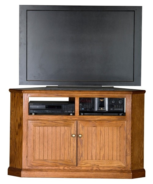 eagle furniture heritage 50 in tall corner tv stand cfm