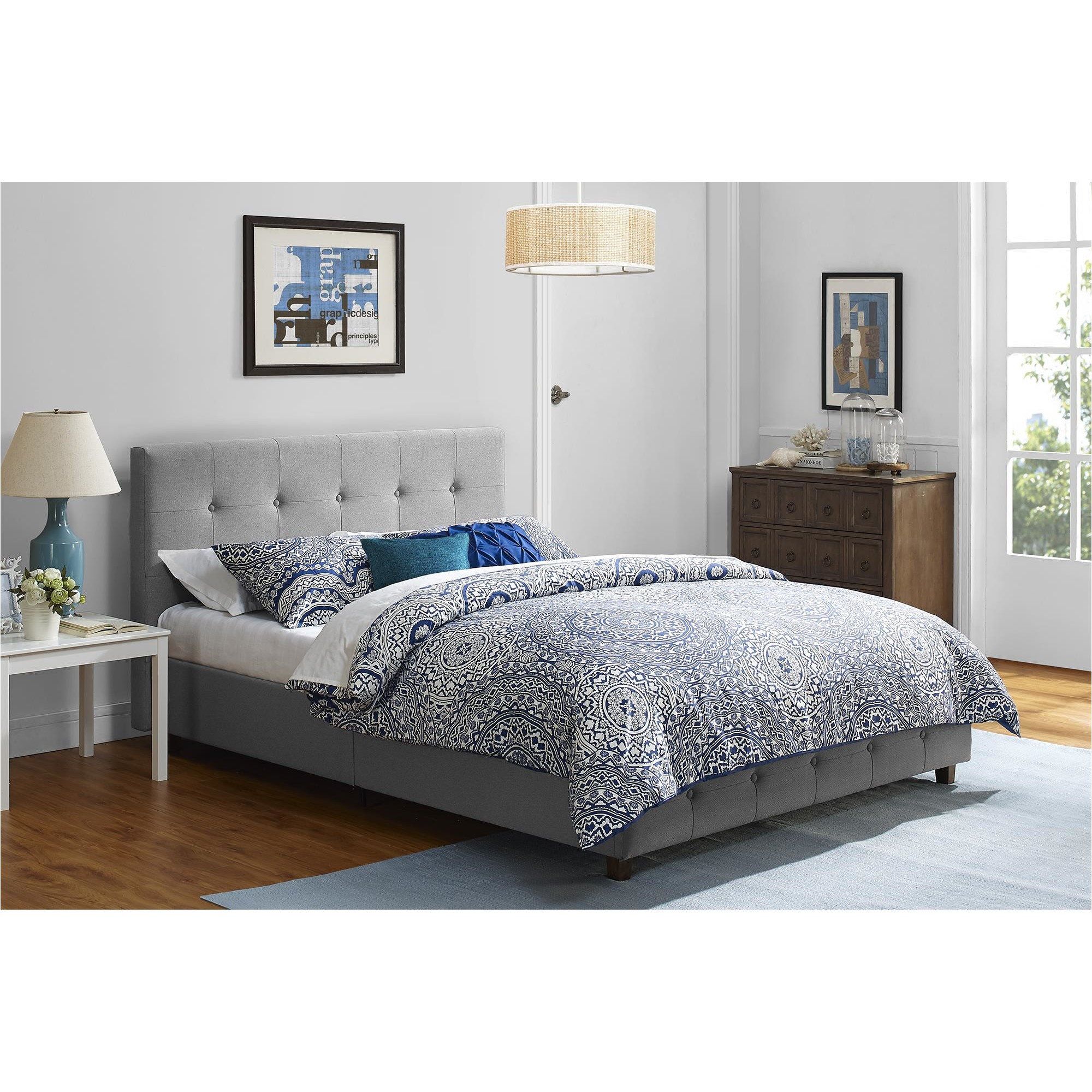 andover mills amherst upholstered platform bed ando2170 ando2170