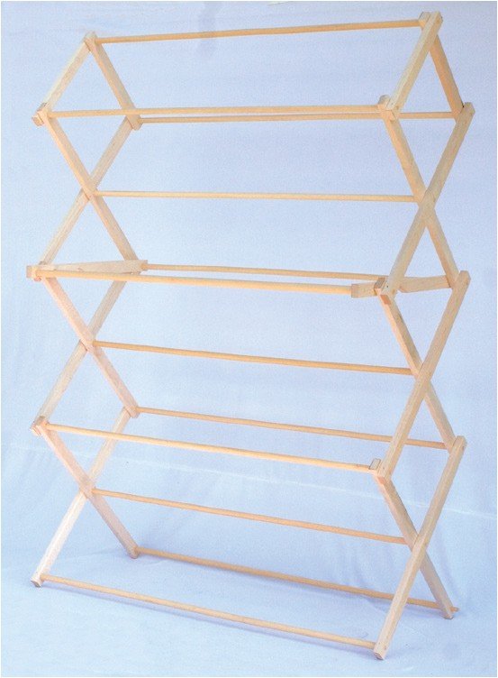 amish folding clothes racks