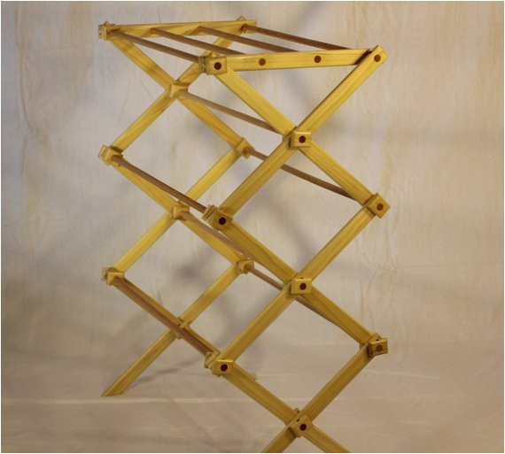 woodworking plans clothes drying rack