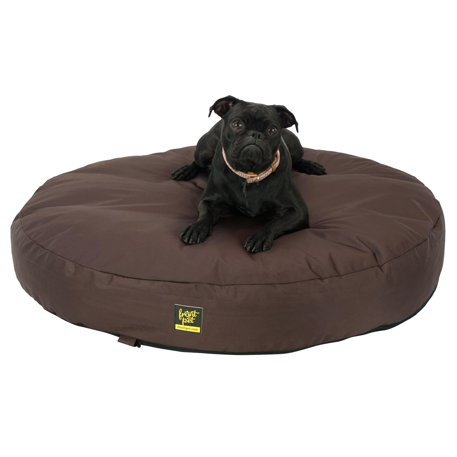 amazoncom frontpet chew resistant dog bed quot round chew 9cfbe37d3b54fe48