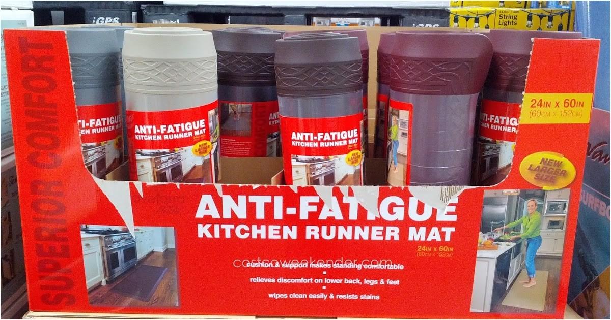 novaform home anti fatigue kitchen runner mat costco 987675