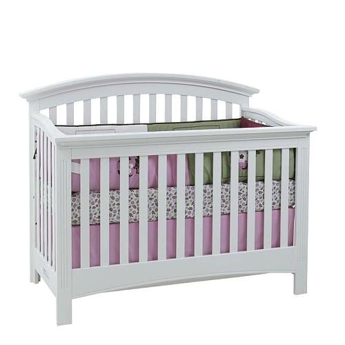 Baby Cache Essentials Crib White Baby Cache Essentials Full Size Conversion Rails White