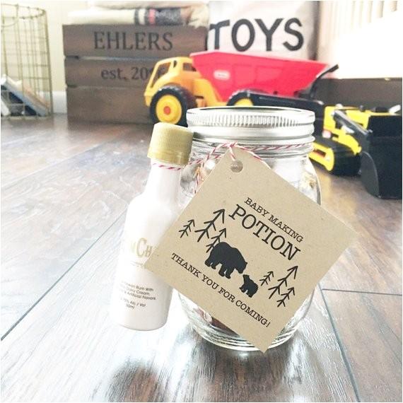 baby making potion tags