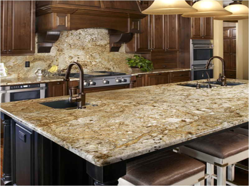 new venetian gold granite for the kitchen backsplash ideas with the cabinet