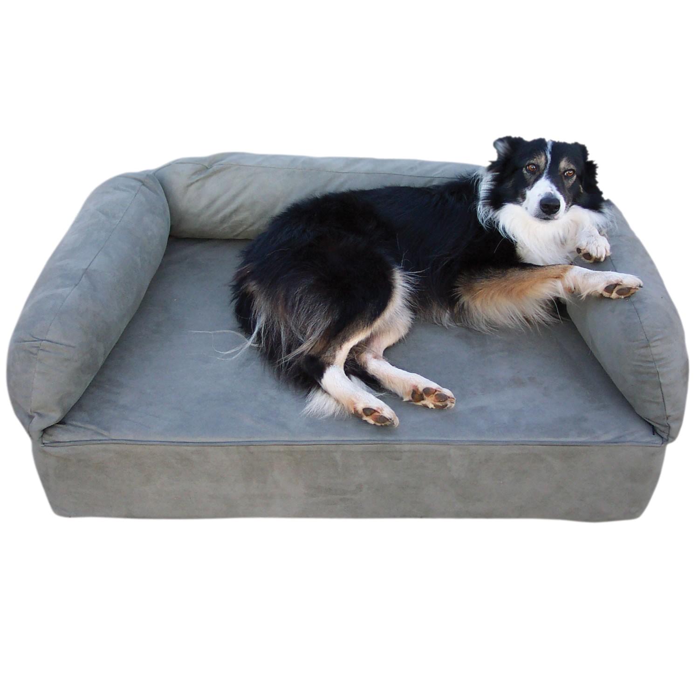 amazoncom barksbar large gray orthopedic dog bed x dog beds and 35dace3ac7c2a54a