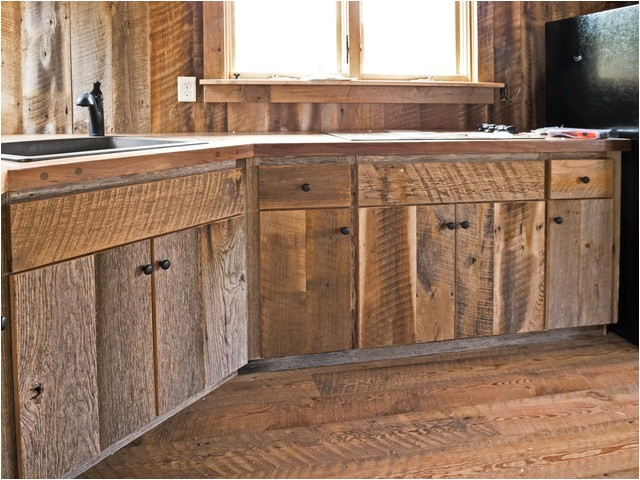 barnwood kitchen cabinets for sale