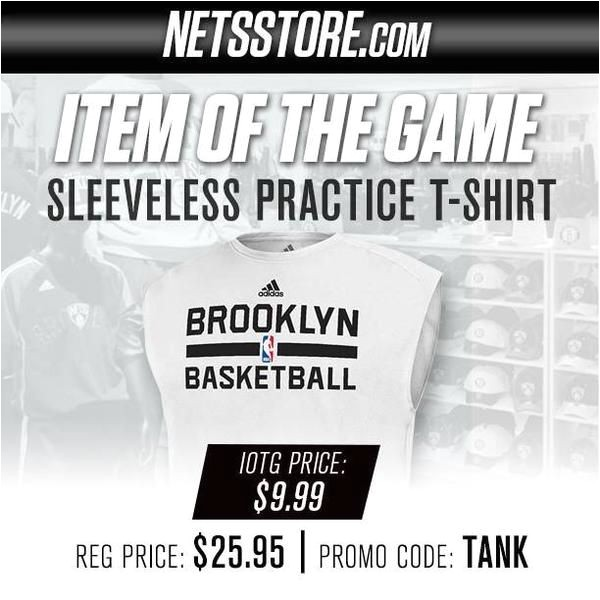 the nets using the promo code tank despite not having another draft pick until 2019 is kind of hilarious