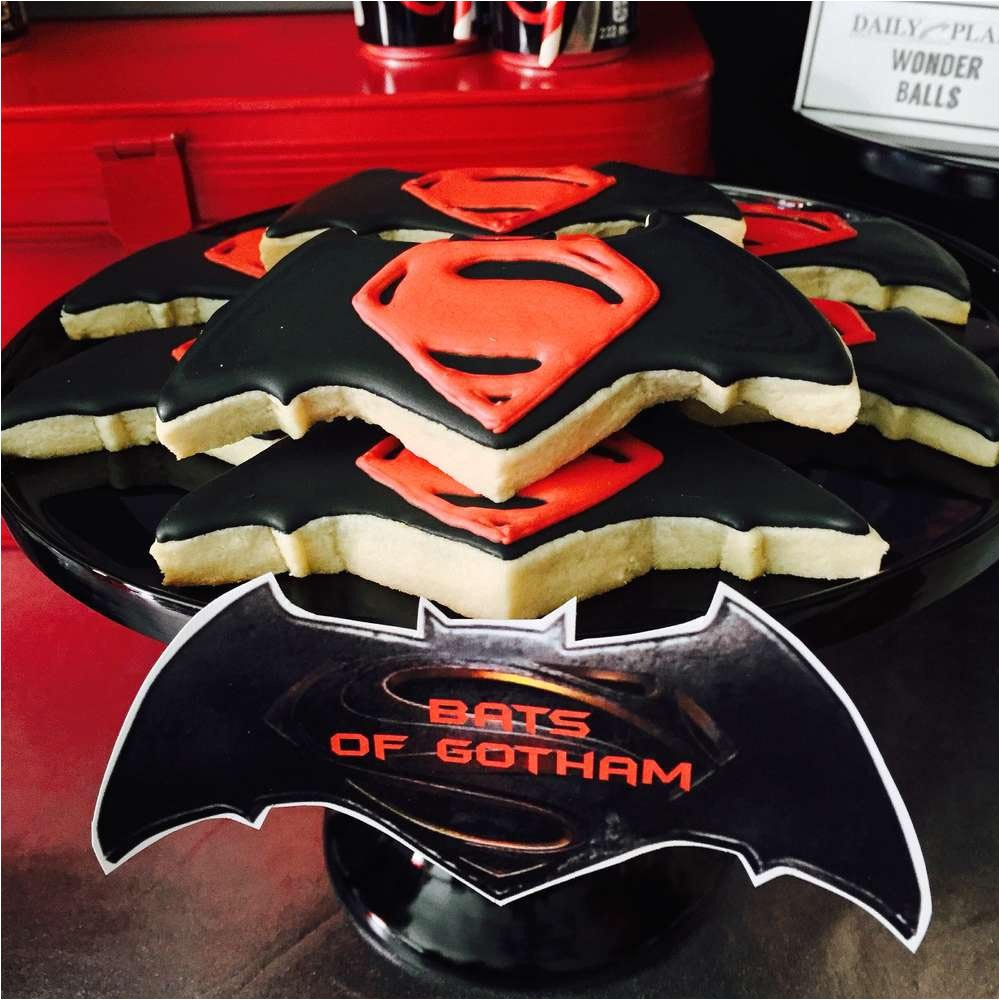 batman vs superman birthday party ideas