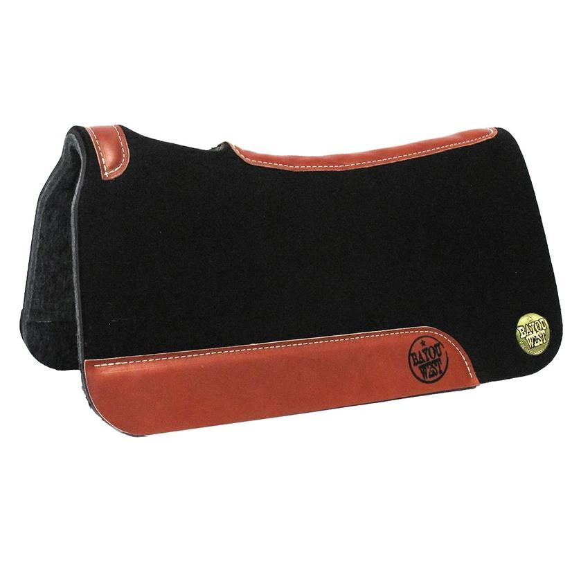 bayou west contoured saddle pad 1 1 8 1369