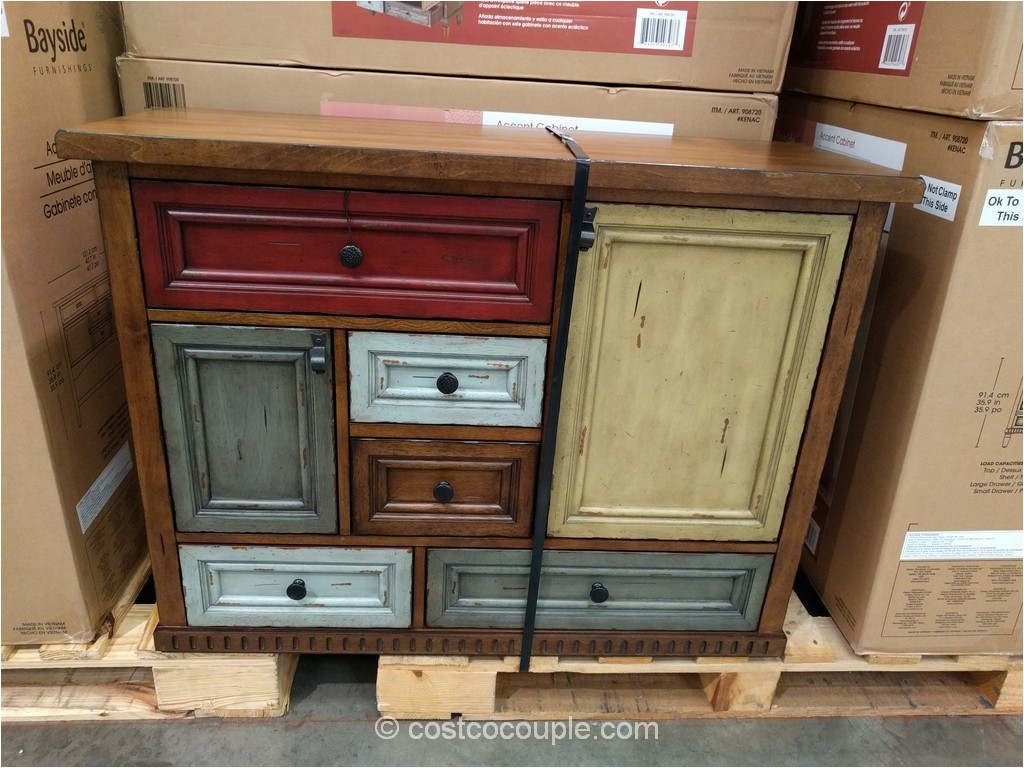 costco bayside furnishings accent cabinet