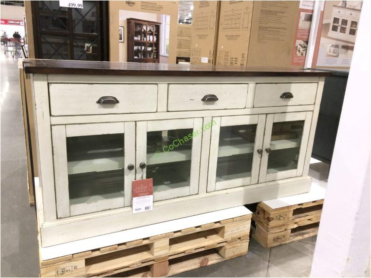 bayside furnishings 72 accent cabinet