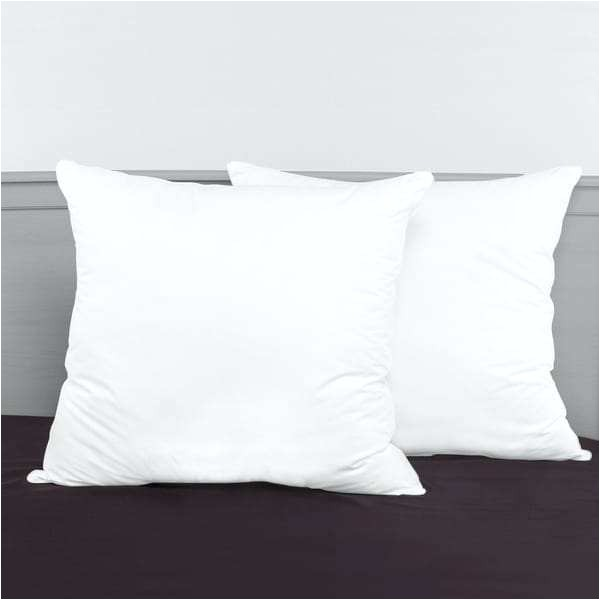 euro pillow inserts the secret to a great looking sham via down 28x28