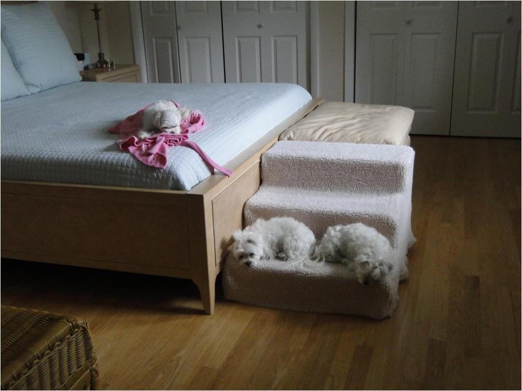 platform dog bed littlefun bedside platform dog beddog e043c0080486e449
