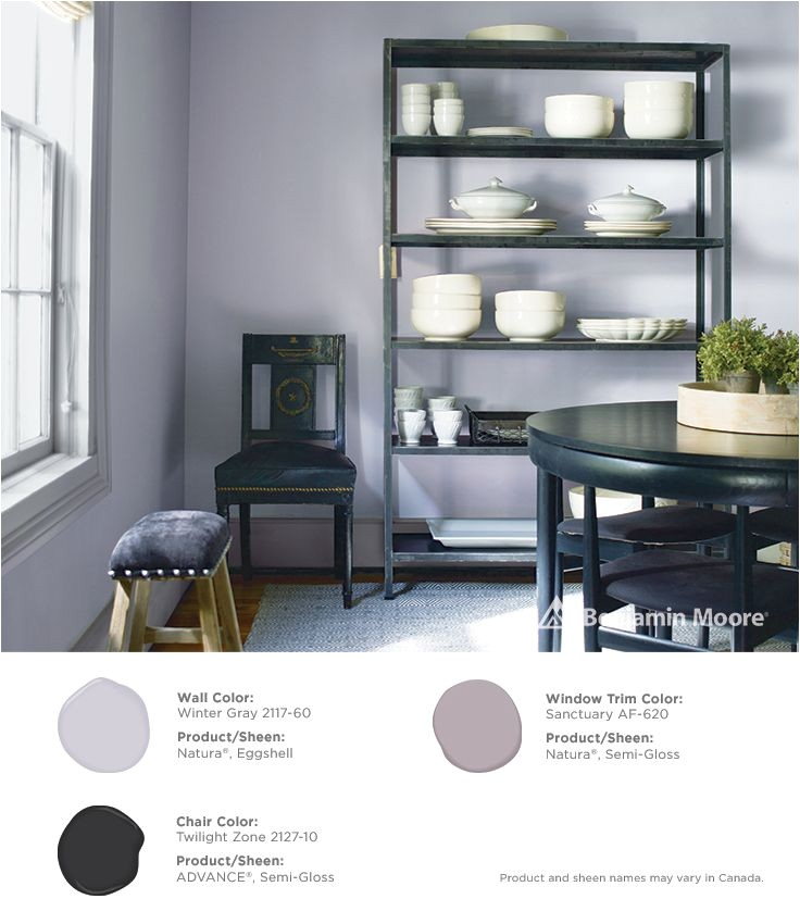 Benjamin Moore Regal Select Winter Gray 2117-60 Paints Exterior Stains