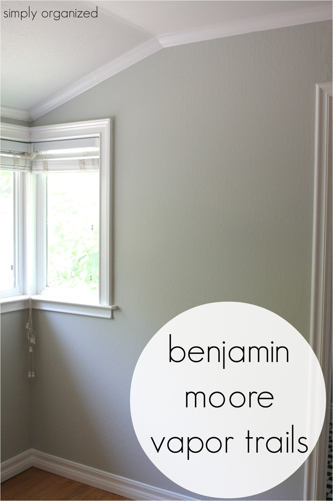 Benjamin Moore Vapor Trails Undertones My Home Interior Paint Color Palate Simply organized