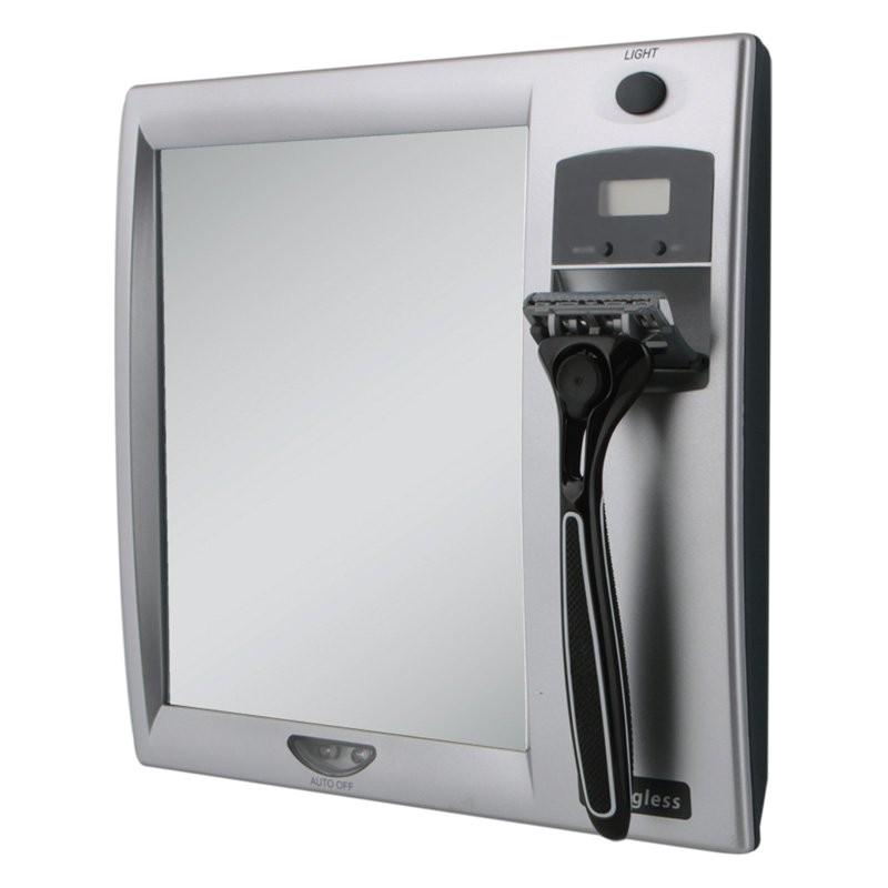 Best Fogless Lighted Shower Mirror Zadro Products Z 39 Fogless Fog Free Lighted Shower Mirror