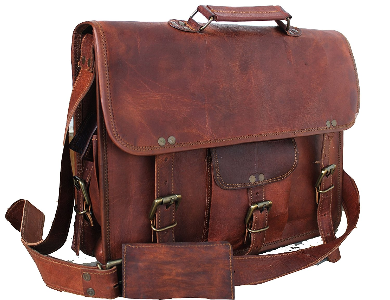 7 best leather messenger bags reviews