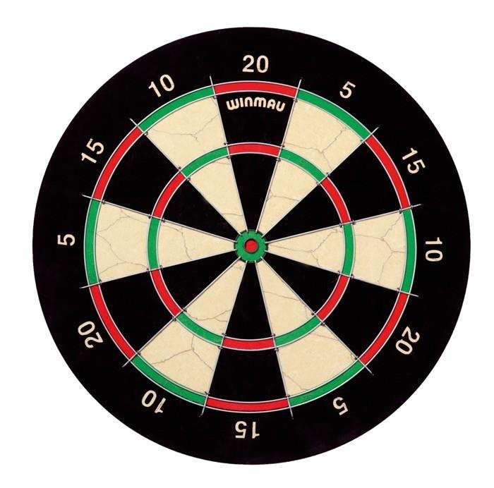 winmau ipswich 5 dartboard steel tip