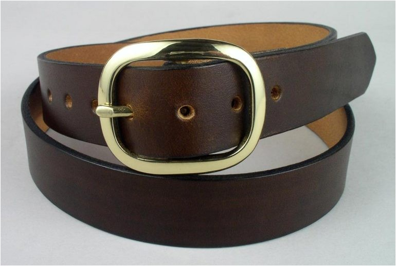 leather belts types of leather