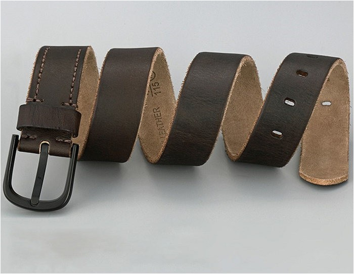 some leather types used for belts