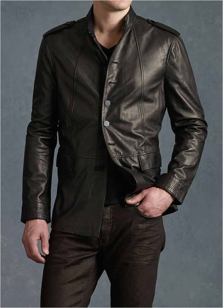 types of leather jackets