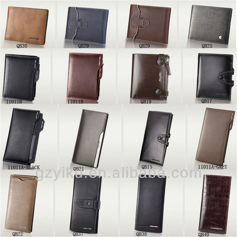 wholesale types of mens wallets genuine 1421865138