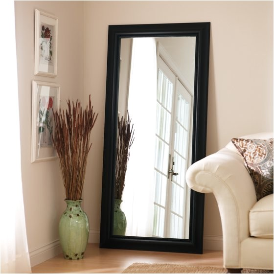 Better Homes and Gardens Leaner Mirror 27 X 70 Better Homes and Gardens Black Leaner Full Length Floor