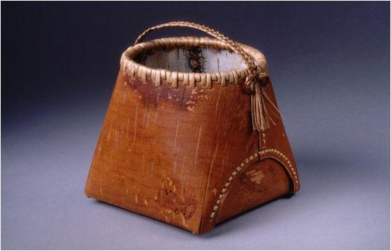 Birch Bark Berry Basket Dennis Chilcote Birch Bark Berry Basket Aboriginal Art