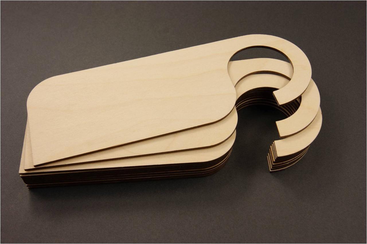 Blank Wooden Door Hangers Adinaporter