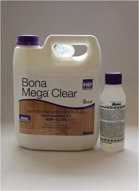Bona Mega Clear Hd Bona Mega Clear Hd Semi Gloss Water Based Wood Floor