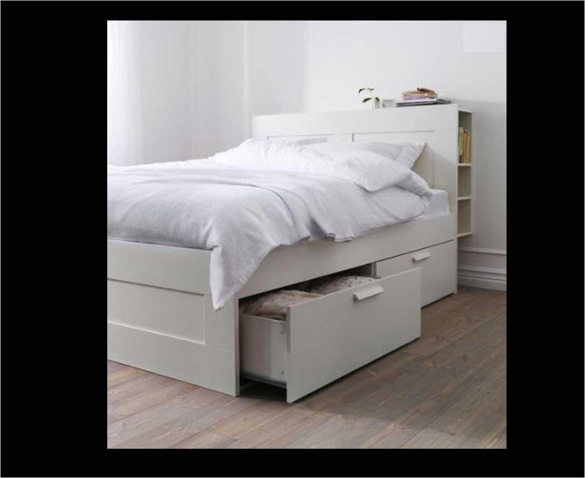 Brimnes Bed Frame with Storage Headboard 50 Percent Off Discount Brimnes Queen Size Bed Frame with