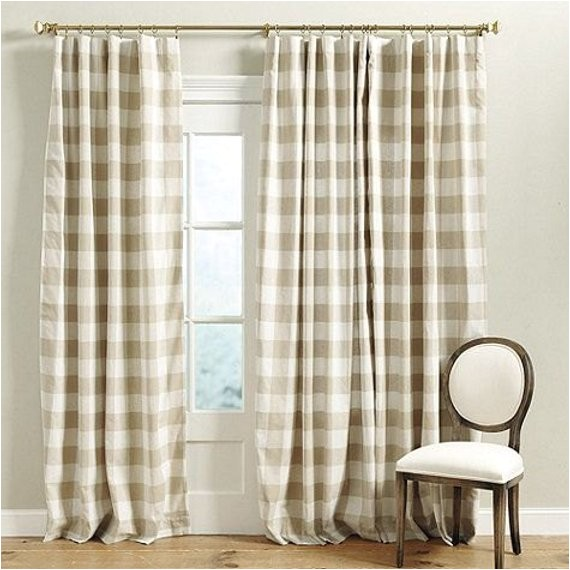 buffalo check curtains p kaufmann linen