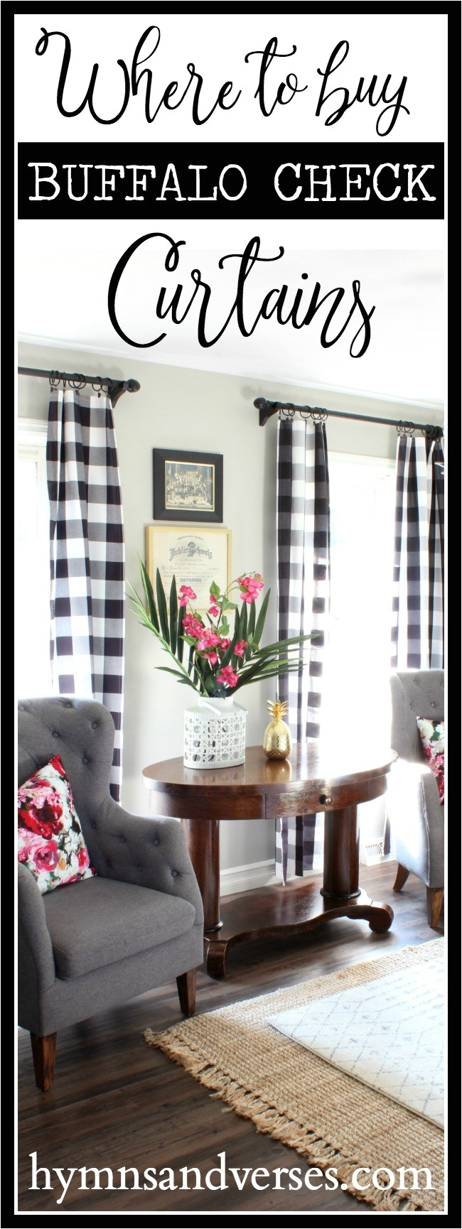 buy buffalo check curtains