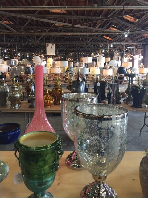 more tables of vases and more