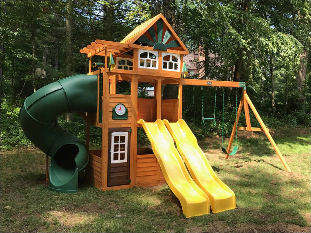 cedar summit spring valley deluxe playset assembly sudbury ma