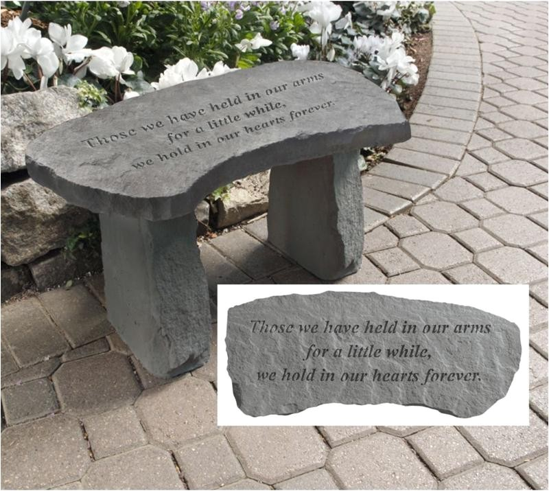 214810 outdoor memorial benches