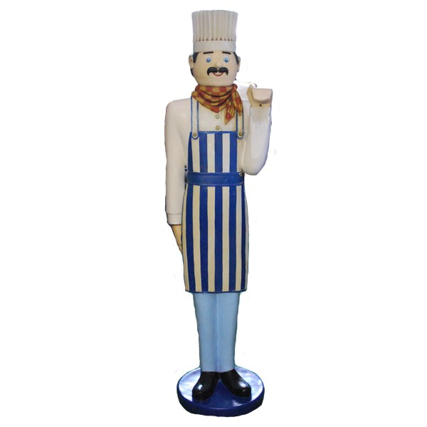 food related chef statues c 52 101